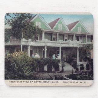 Casa Montserrat del gobierno Alfombrilla De Ratón
