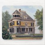 Casa Mousepad #4 del Victorian Tapetes De Raton