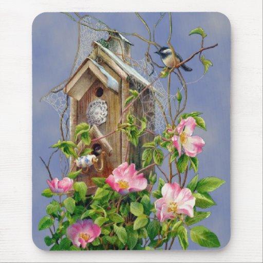 Casa Mousepad del pájaro