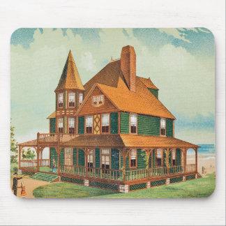 Casa Mousepad del Victorian Alfombrillas De Ratones