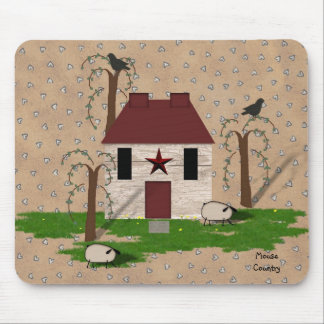Casa primitiva Mousepad Alfombrillas De Ratones