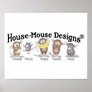 Casa-Ratón Designs® - arte de la pared