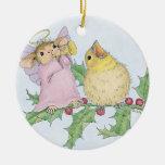 Casa-Ratón Designs® - el primer navidad del bebé Ornatos