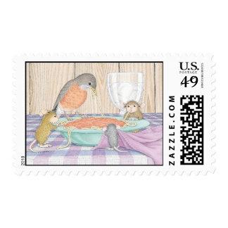Casa-Ratón Designs® - franqueo aprobado de USPS Estampillas