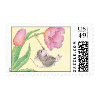 Casa-Ratón Designs® - franqueo aprobado de USPS Sello Postal