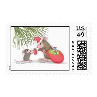 Casa-Ratón Designs® - franqueo aprobado de USPS Sellos Postales