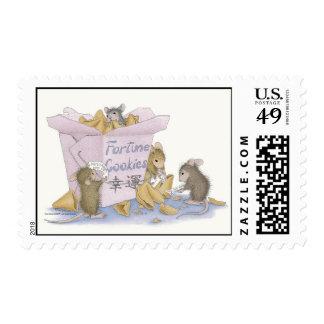Casa-Ratón Designs® - franqueo aprobado de USPS Timbre Postal