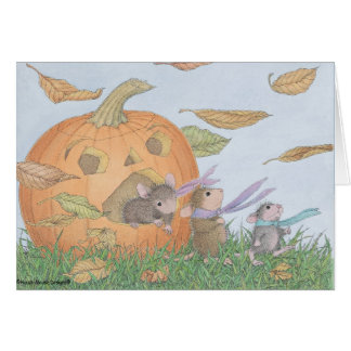 Casa-Ratón Designs® - Halloween Notecards Tarjetón
