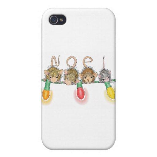 Casa-Ratón Designs® iPhone 4/4S Carcasa