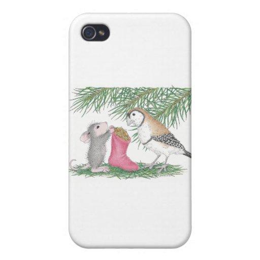Casa-Ratón Designs® iPhone 4 Cobertura