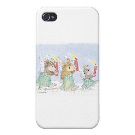 Casa-Ratón Designs® iPhone 4 Protectores