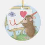 Casa-Ratón Designs® - ornamentos Ornamentos De Navidad