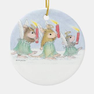 Casa-Ratón Designs® - ornamentos Ornamento De Navidad