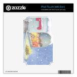 Casa-Ratón Designs® - pieles iPod Touch 4G Calcomanías
