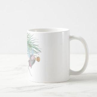 Casa-Ratón Designs® Taza Básica Blanca