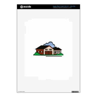 Casa residencial iPad 3 pegatina skin