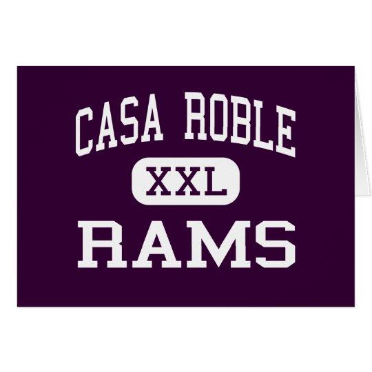 Casa Roble - Rams - High - Orangevale California Card