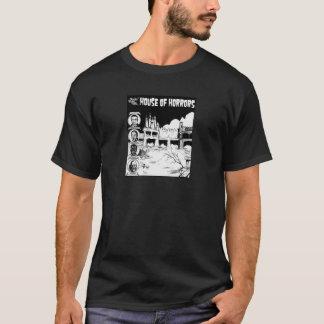 Casa rocosa del parque del punto de la camiseta de
