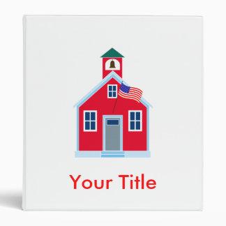 Casa roja de la escuela
