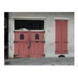 Casa rosada en New Orleans Tarjeta Postal