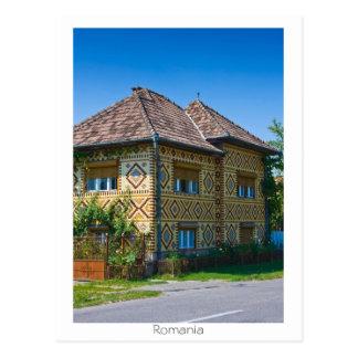 Casa rumana postal