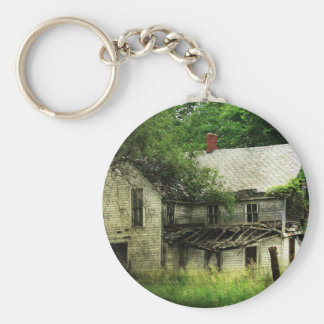 Casa rural abandonada de Missouri Llavero