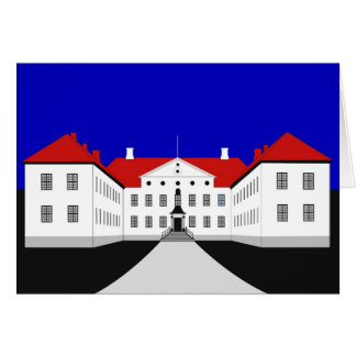 Casa señorial de Clausholm Tarjeta De Felicitación