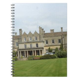 Casa señorial inglesa spiral notebooks