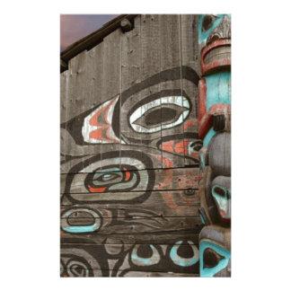 Casa tribal de Chilkat Papeleria