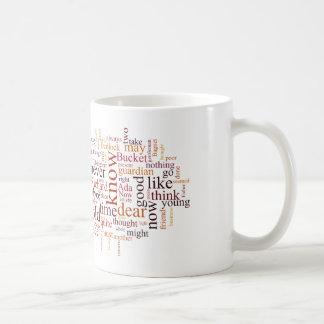 Casa triste taza de café