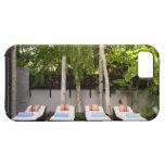 Casa tropical de las sillas de cubierta funda para iPhone SE/5/5s