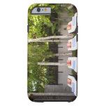 Casa tropical de las sillas de cubierta funda resistente iPhone 6