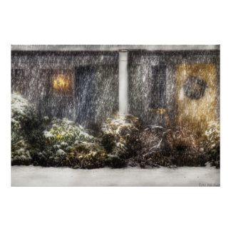 Casa - una noche Nevado Poster