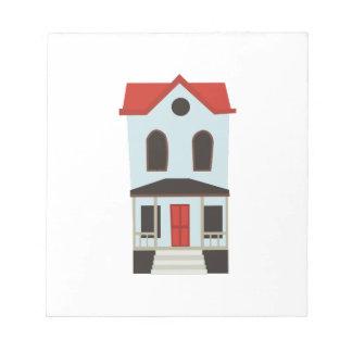 Casa urbana blocs de papel