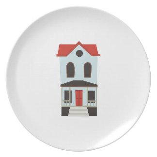 Casa urbana plato de comida