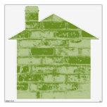 Casa verde del ladrillo