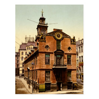 Casa vieja Boston Massachusetts del estado Tarjetas Postales