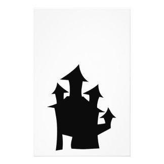 Casa vieja con las torres flyer a todo color
