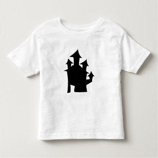 Casa vieja con las torres playera de bebé