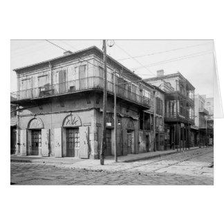 Casa vieja del ajenjo, New Orleans: 1906 Tarjeta De Felicitación