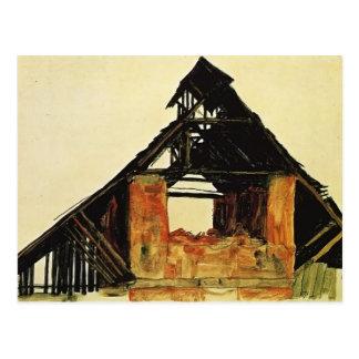 Casa vieja del ladrillo de Egon Schiele- en Carint Postales