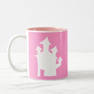 Casa vieja, en blanco taza de café