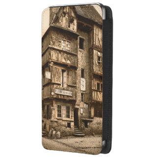 Casa vieja en la ruda San Martín, Bayeux, Francia Bolsillo Para Galaxy S5