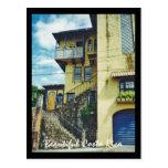 Casa vieja hermosa en San Jose, Costa Rica Tarjeta Postal