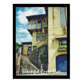 Casa vieja hermosa en San Jose Costa Rica Tarjeta Postal