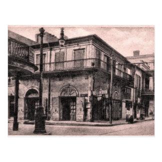 Casa vieja New Orleans del ajenjo Postales