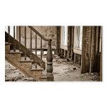 Casa vieja que remodela la restauración tarjeta de visita