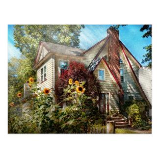 Casa - Westfield, NJ - el retratamiento de verano Tarjetas Postales