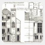 Casa y estudio, el camino de Steele, Haverstock Colcomanias Cuadradass