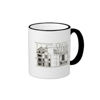 Casa y estudio, el camino de Steele, Haverstock Taza De Café